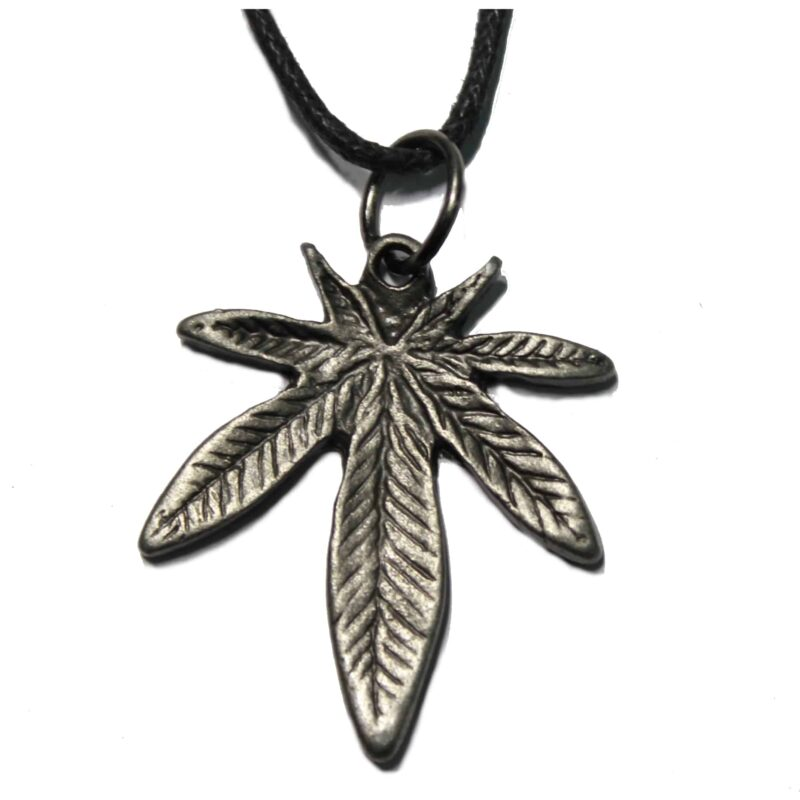 Cannabis Leaf Necklace 1