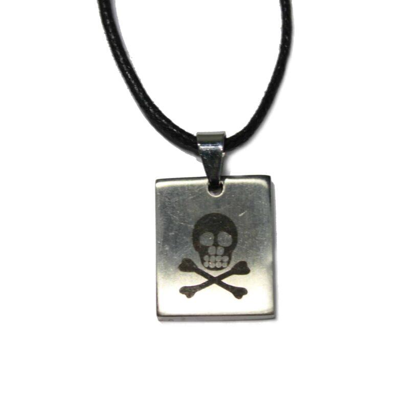 Skull Crossbones Necklace 1