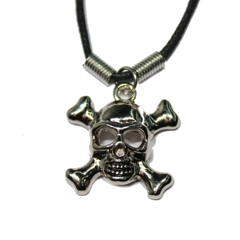 Skull and Crossbones Necklace 1