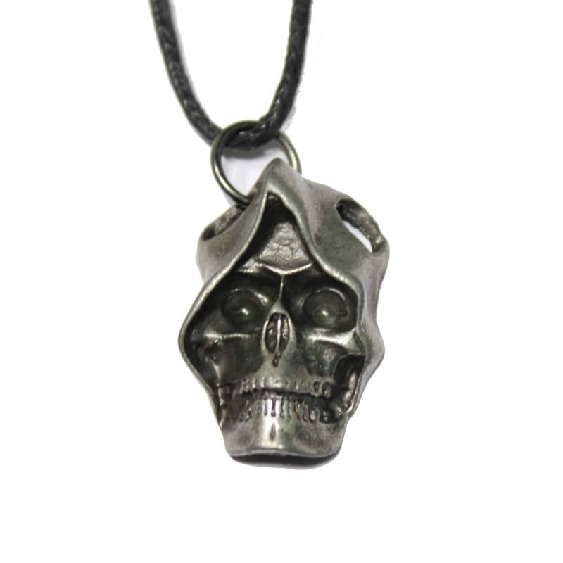 Grim Reaper Skull Necklace 1