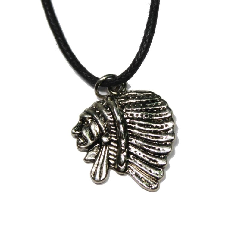 Native American Head Necklace 1