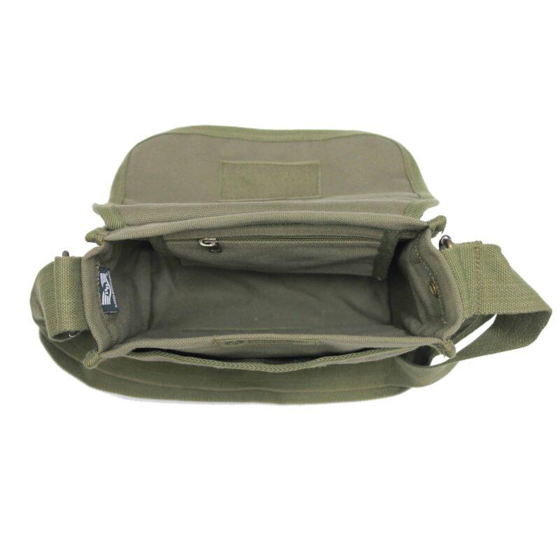 Olive Military Field Messenger Bag 4