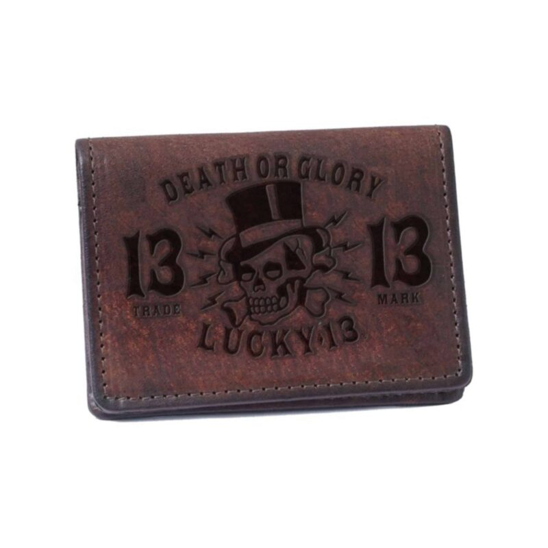 Lucky 13 Wallet Death or Glory Card Holder