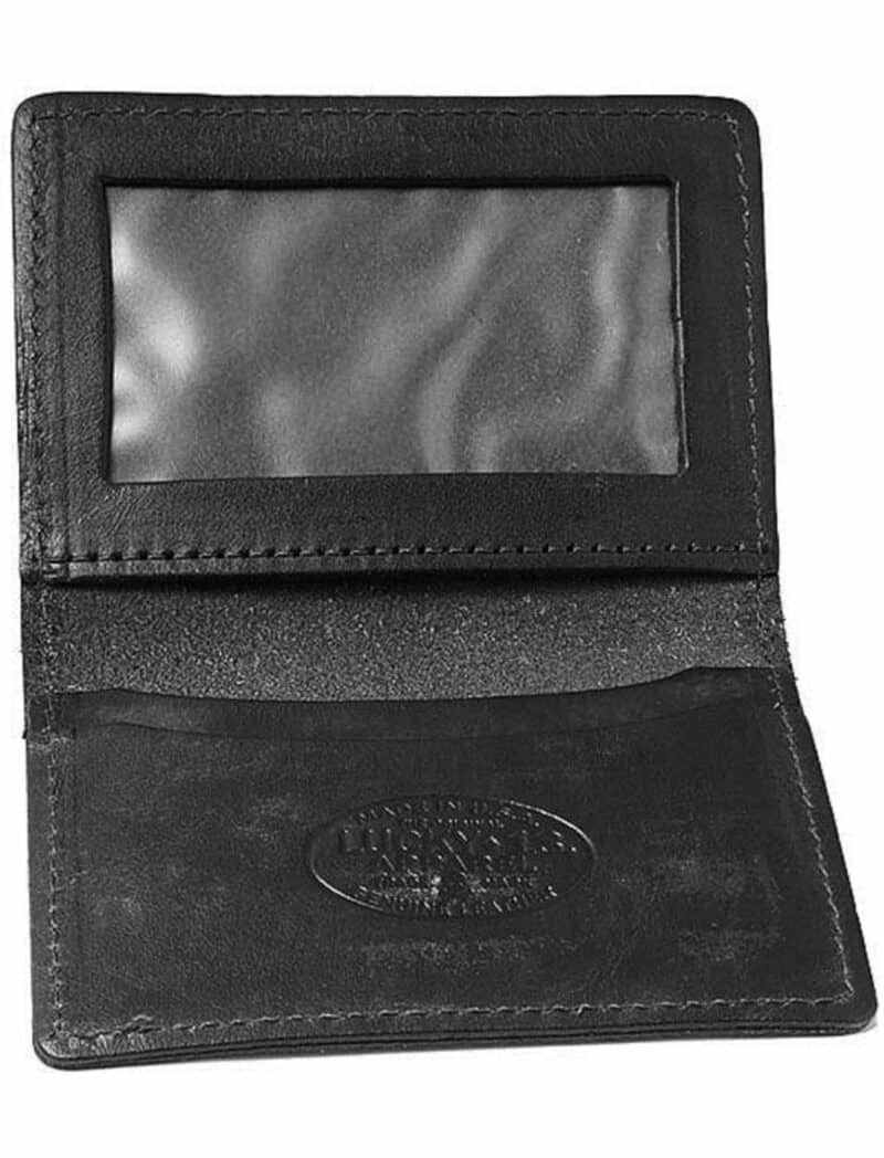 Lucky 13 Wallet Death or Glory Card Holder Black 1