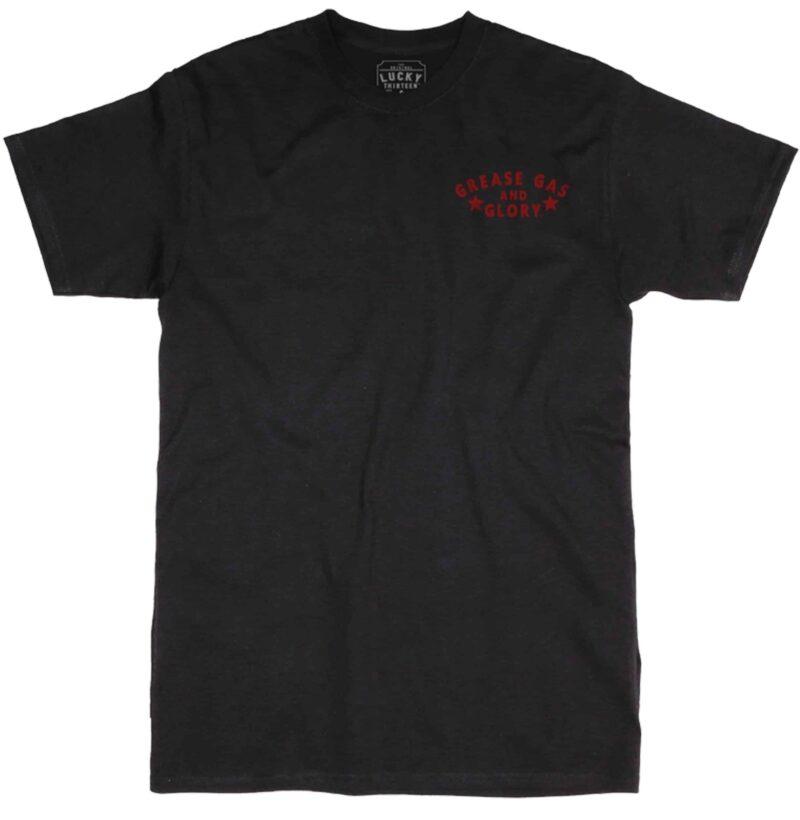 Lucky 13 T-Shirt Greasy Devil 1