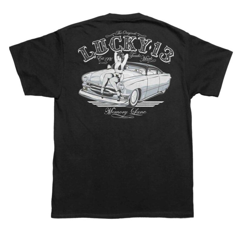 Lucky 13 T-Shirt Memory Lane
