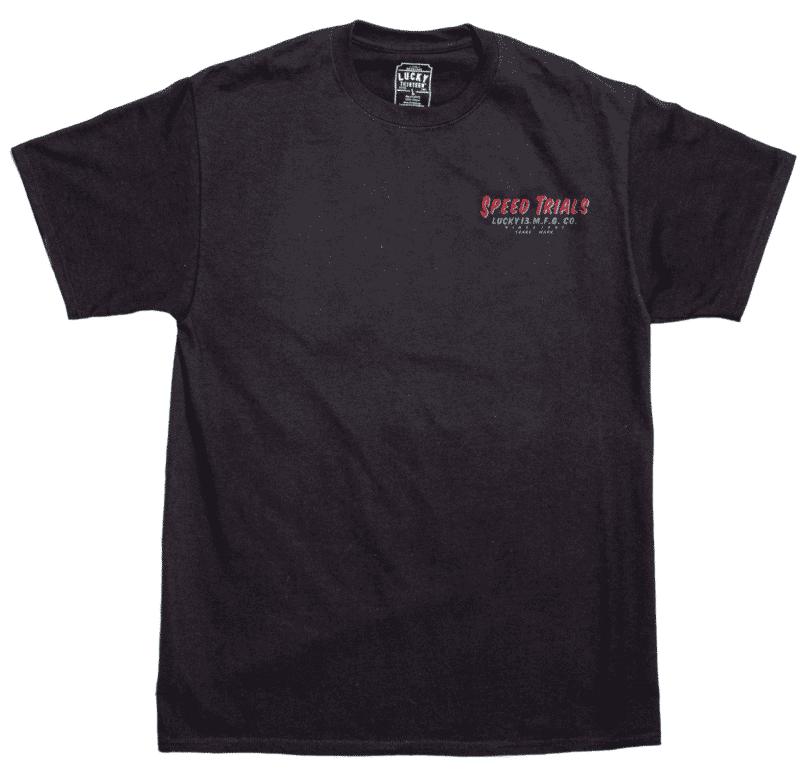 Lucky 13 T-Shirt Speed Trials Salt Flats 1