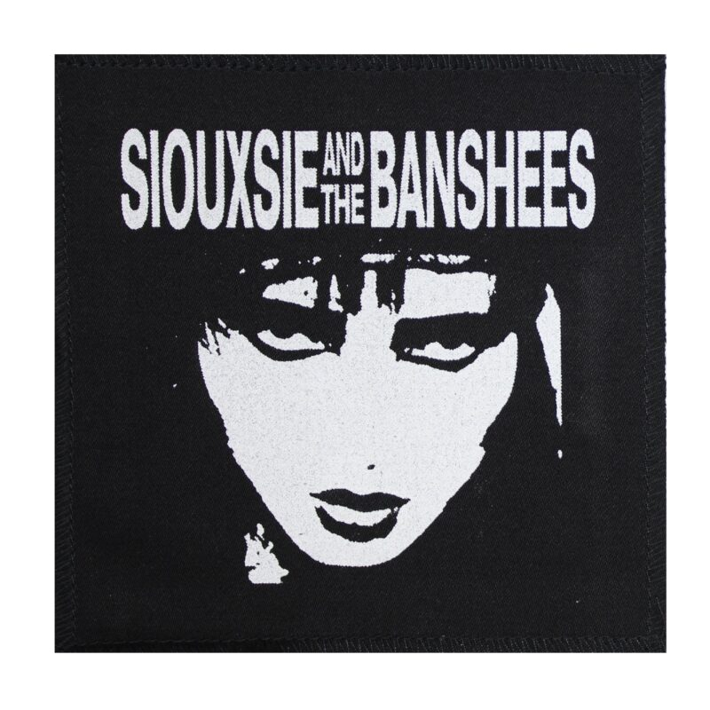 Siouxsie and The Banshees Face Patch