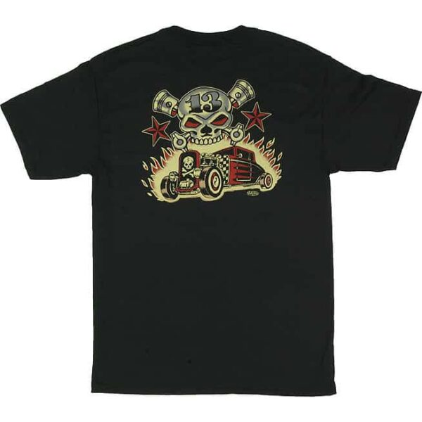 Vince Ray Skull and Rods T-Shirt
