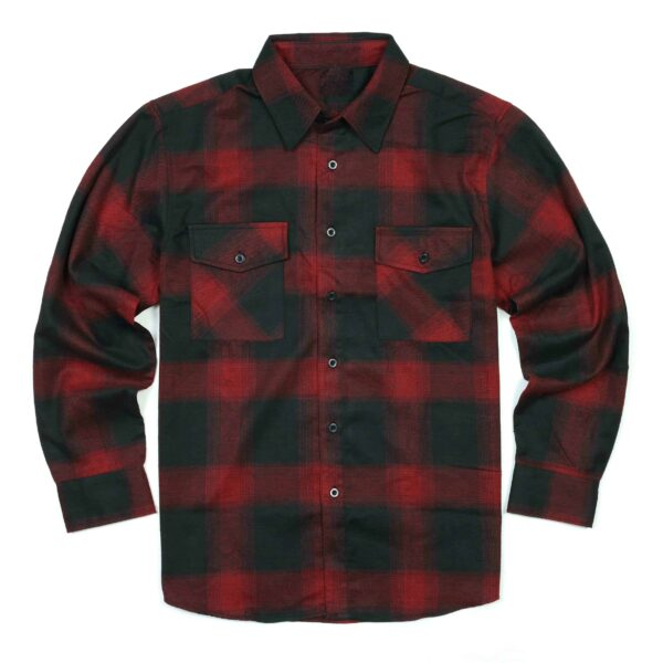 Red Black buffalo plaid flannel