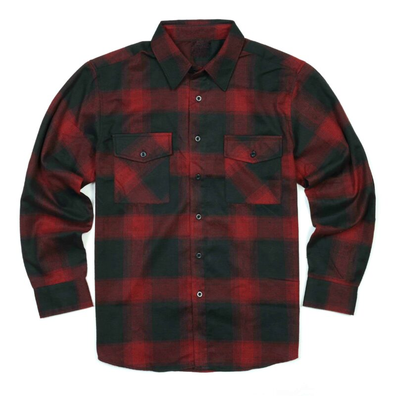Black and Red plaid flannel