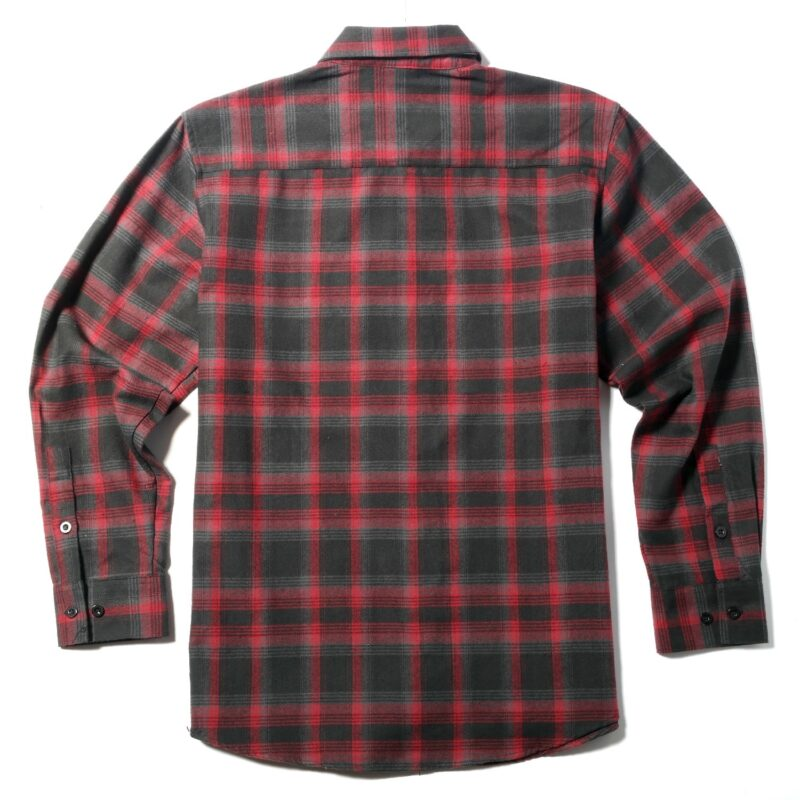 Red and Black Plaid Flannel 1