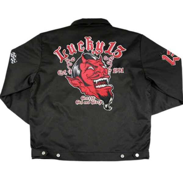 Lucky 13 Jacket Grease Gas Glory