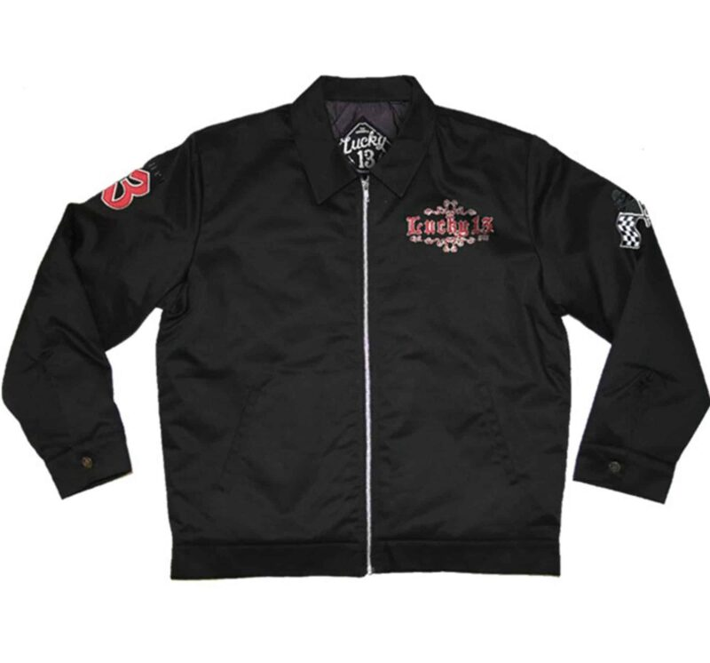 Lucky 13 Jacket Grease, Gas, Glory 1