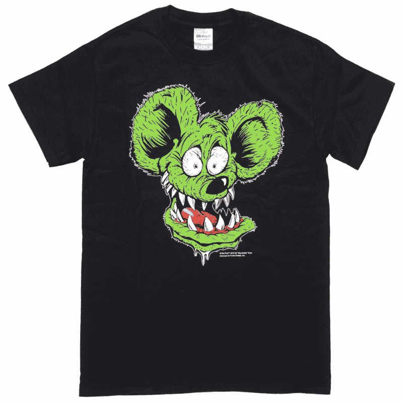 Rat Fink Face T-Shirt