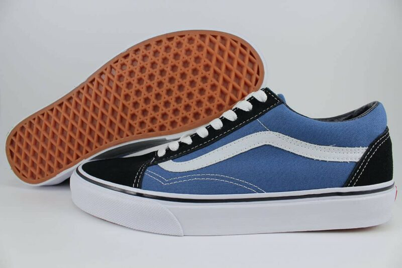 Vans Old Skool Navy/White Canvas & Suede Upper 2