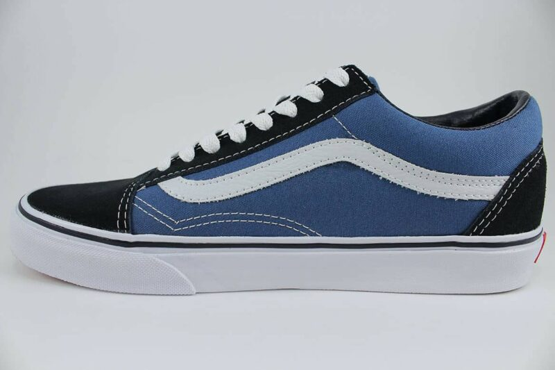 Vans Old Skool Navy/White Canvas & Suede Upper 3