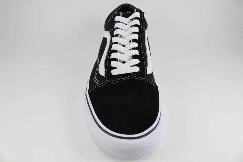 Vans Old Skool Black/White Canvas & Suede Upper 4
