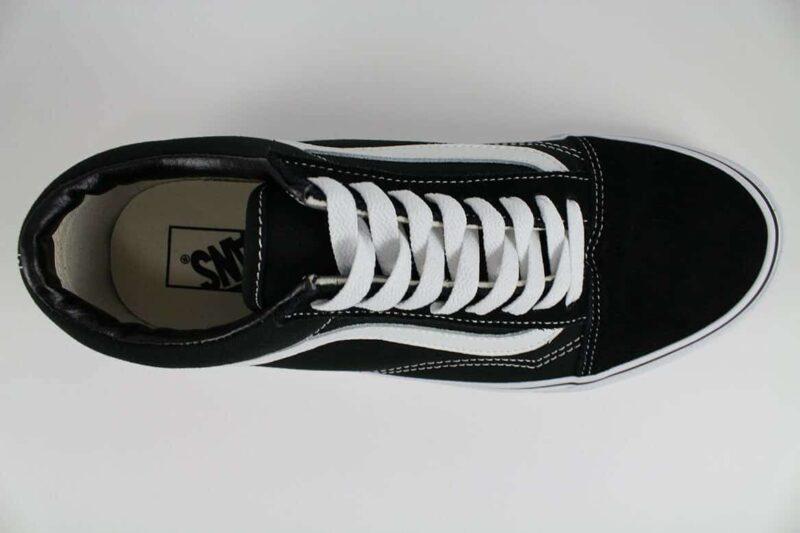 Vans Old Skool Black/White Canvas & Suede Upper 5