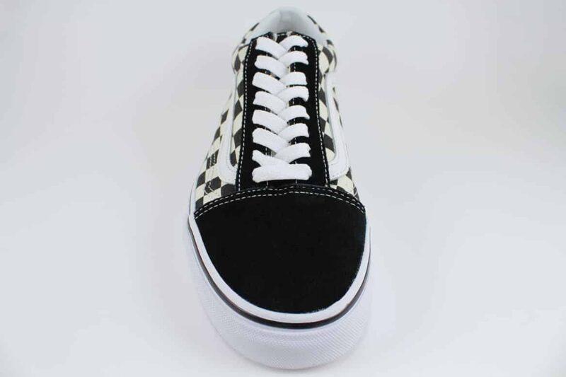 Vans Old Skool Checks Black/White Canvas & Suede Upper 4