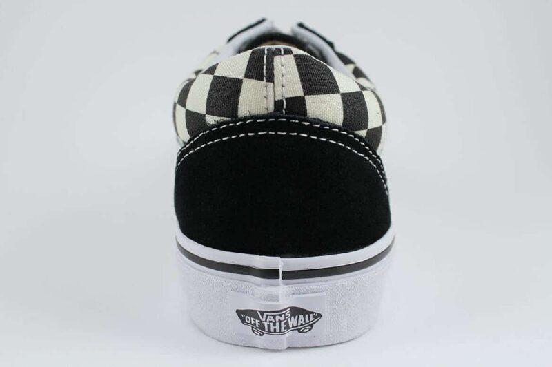 Vans Old Skool Checks Black/White Canvas & Suede Upper 6