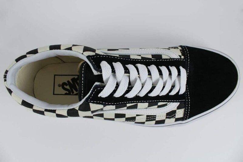 Vans Old Skool Checks Black/White Canvas & Suede Upper 5