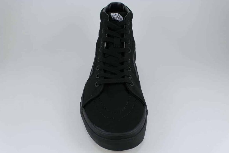 Vans Sk8 Hi Black/Black Canvas & Suede Upper 4