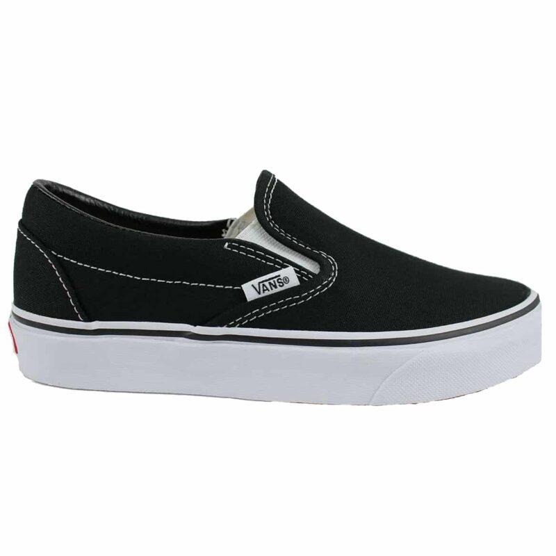 Vans Classic Slip-On Shoes Black/White 1
