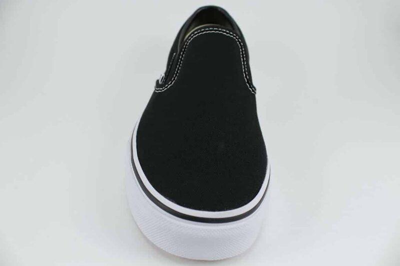 Vans Classic Slip-On Shoes Black/White 4