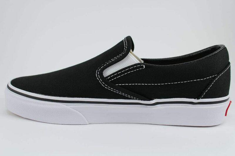 Vans Classic Slip-On Shoes Black/White 3