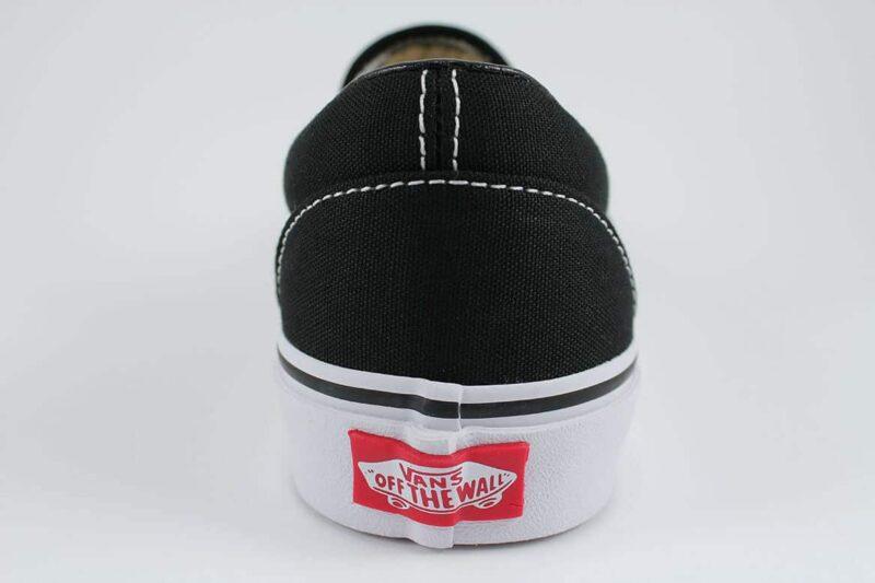 Vans Classic Slip-On Shoes Black/White 6