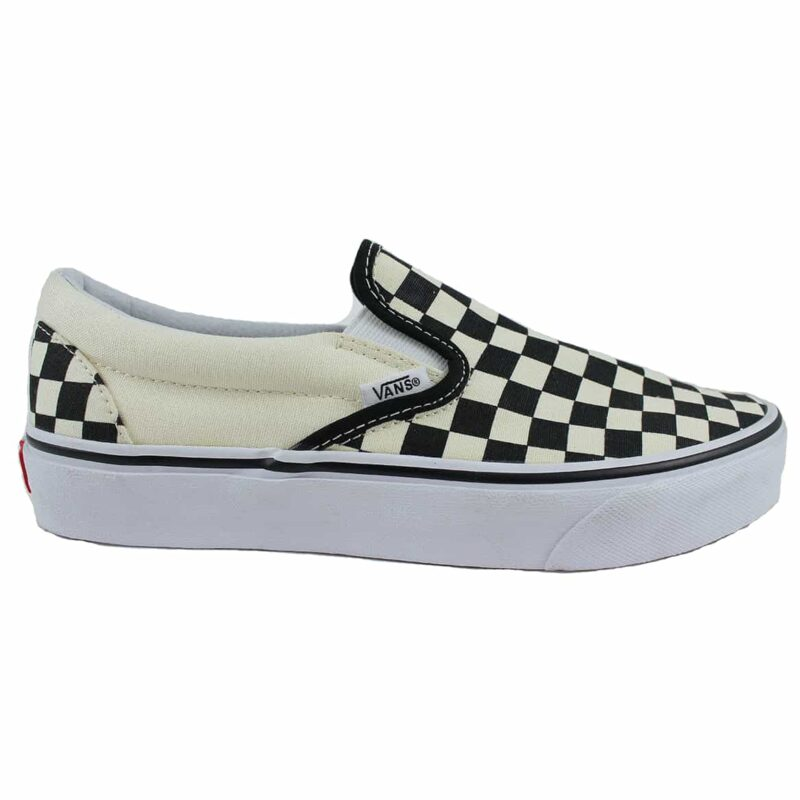 Vans Classic Slip-On Checks Black/White Canvas Upper 1