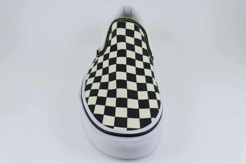 Vans Classic Slip-On Checks Black/White Canvas Upper 4