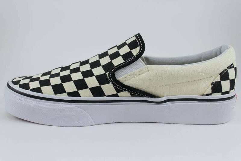 Vans Classic Slip-On Checks Black/White Canvas Upper 3
