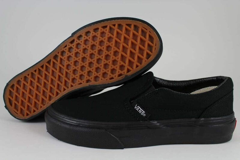 Vans Black Classic Slip-On Canvas Upper 2