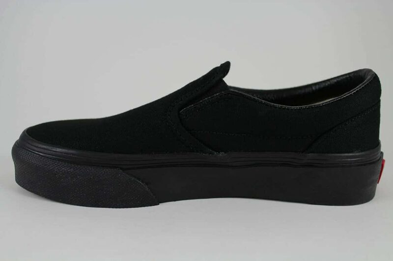 Vans Black Classic Slip-On Canvas Upper 3