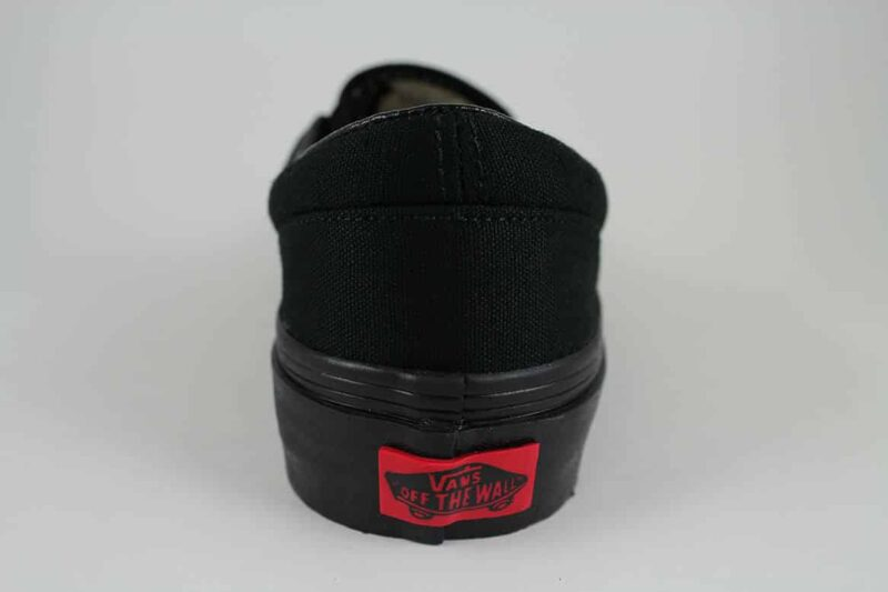 Vans Black Classic Slip-On Canvas Upper 6