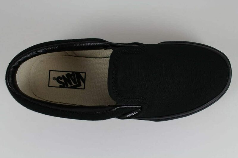 Vans Black Classic Slip-On Canvas Upper 5