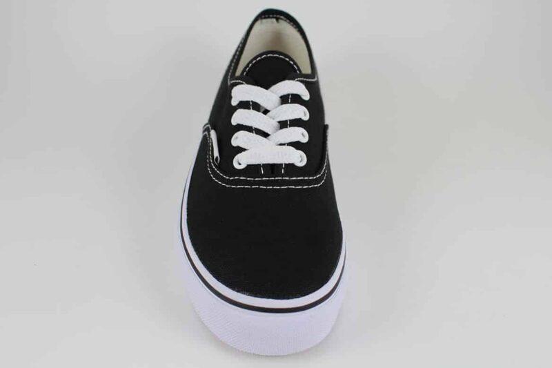 Vans Authentic Black/White Canvas Upper 4
