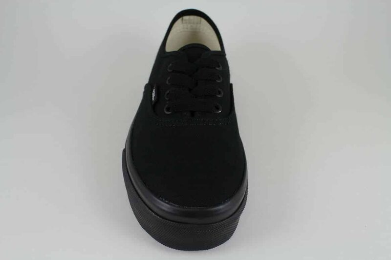 Vans Authentic Black/Black Canvas Upper 4