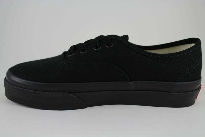 Vans Authentic Black/Black Canvas Upper 3