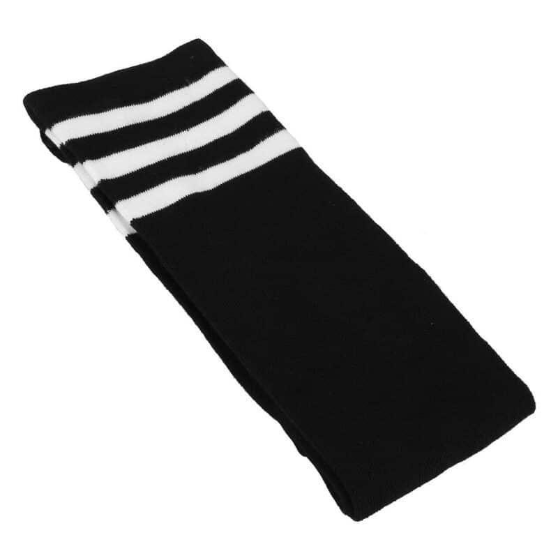 Black Striped Knee High Socks 1