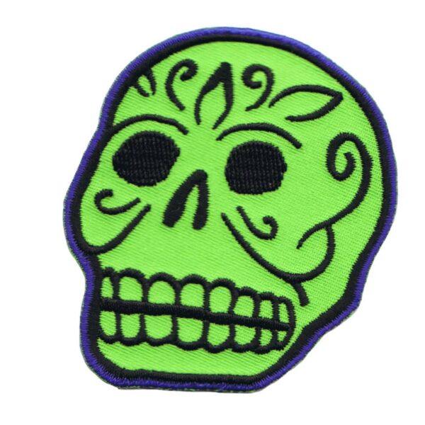 Green Skull Patch
