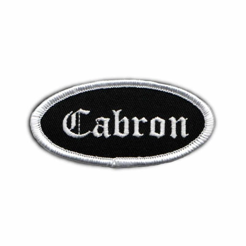 Cabron Name Tag Patch