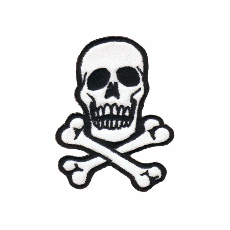 White Skull Patch