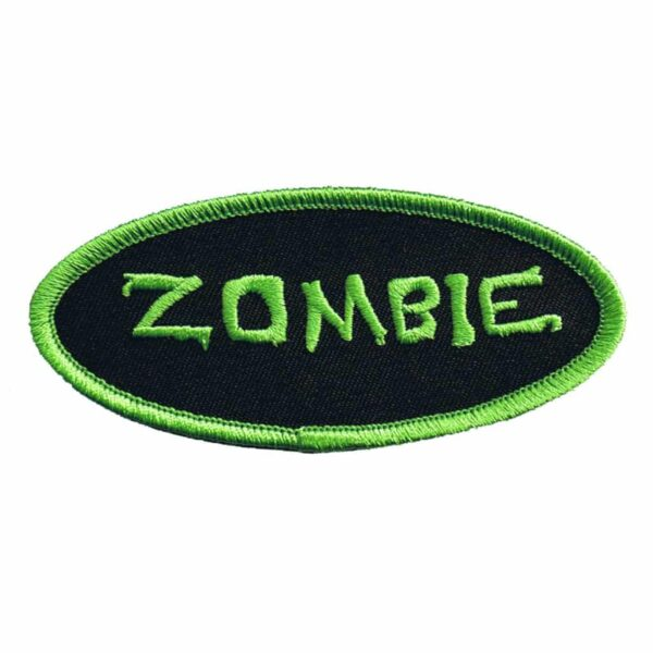 Zombie Name Tag Patch