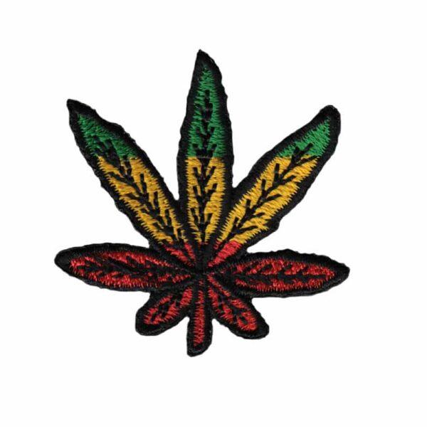 Rasta Leaf Patch