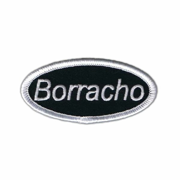 Borracho Name Tag Patch