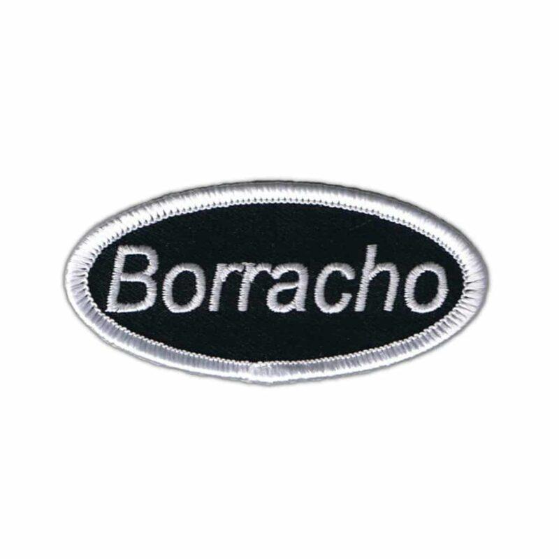 Borracho Name Tag Patch
