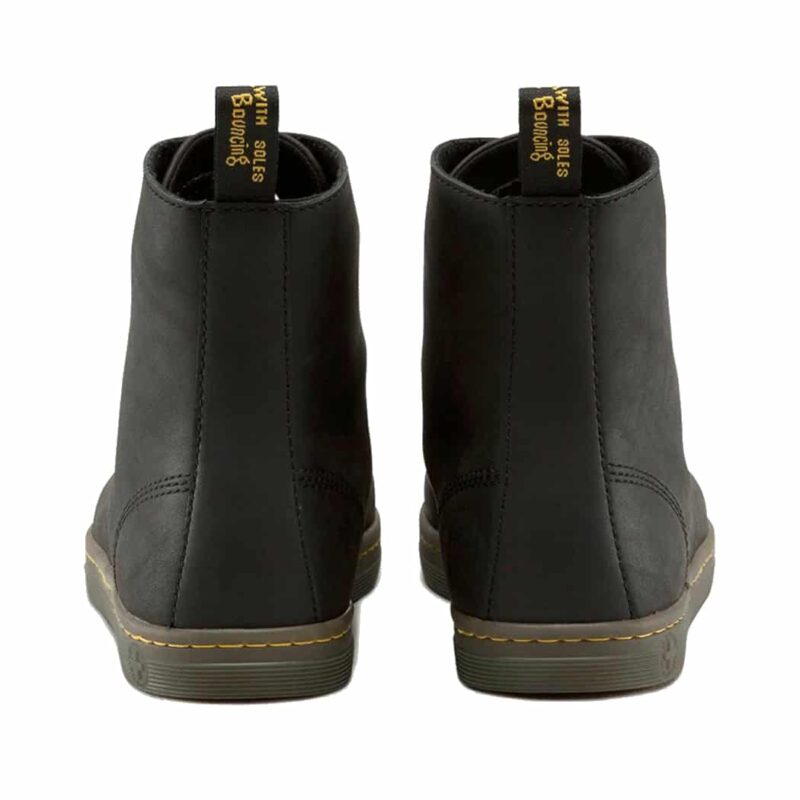 Dr. Martens Black Tobias Greasy Lamper 8-Eye Boot 4